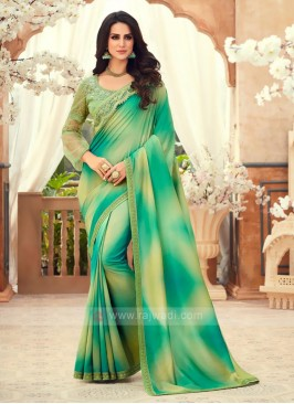 Art Silk Shaded Saree