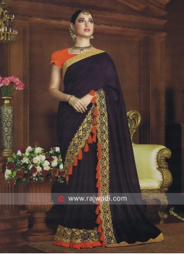 Art Silk Tamannaah Bhatia Bollywood Saree