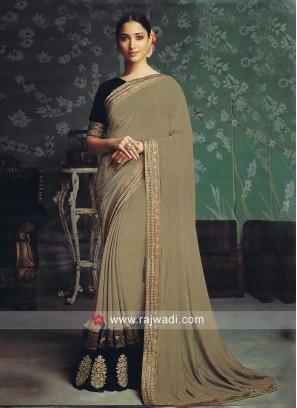 Art Silk Tamannaah Bhatia Saree