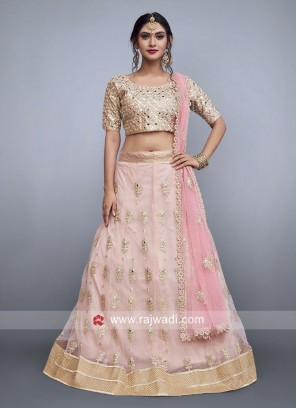 Art Silk Wedding Designer Lehenga Choli