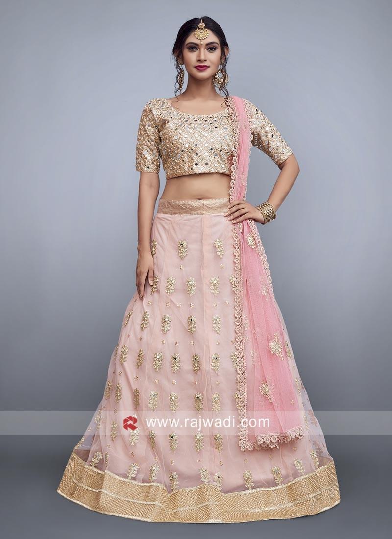Art Silk Wedding Designer Lehenga Choli