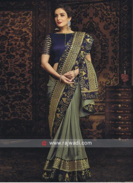 Art Silk Wedding Saree