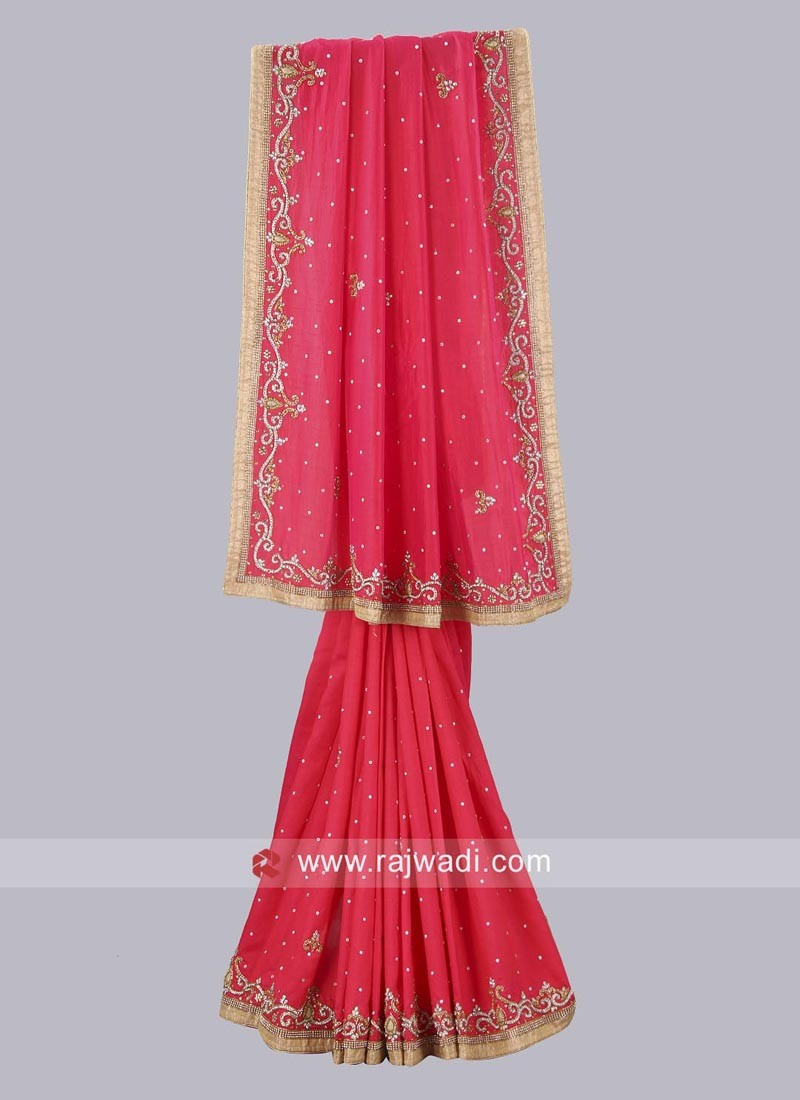 Art Silk Wedding Saree Online
