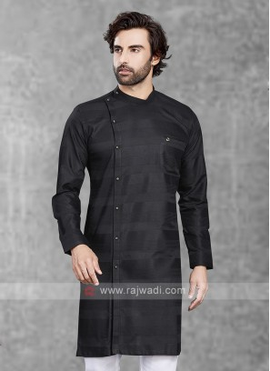 Attractive Black Kurta