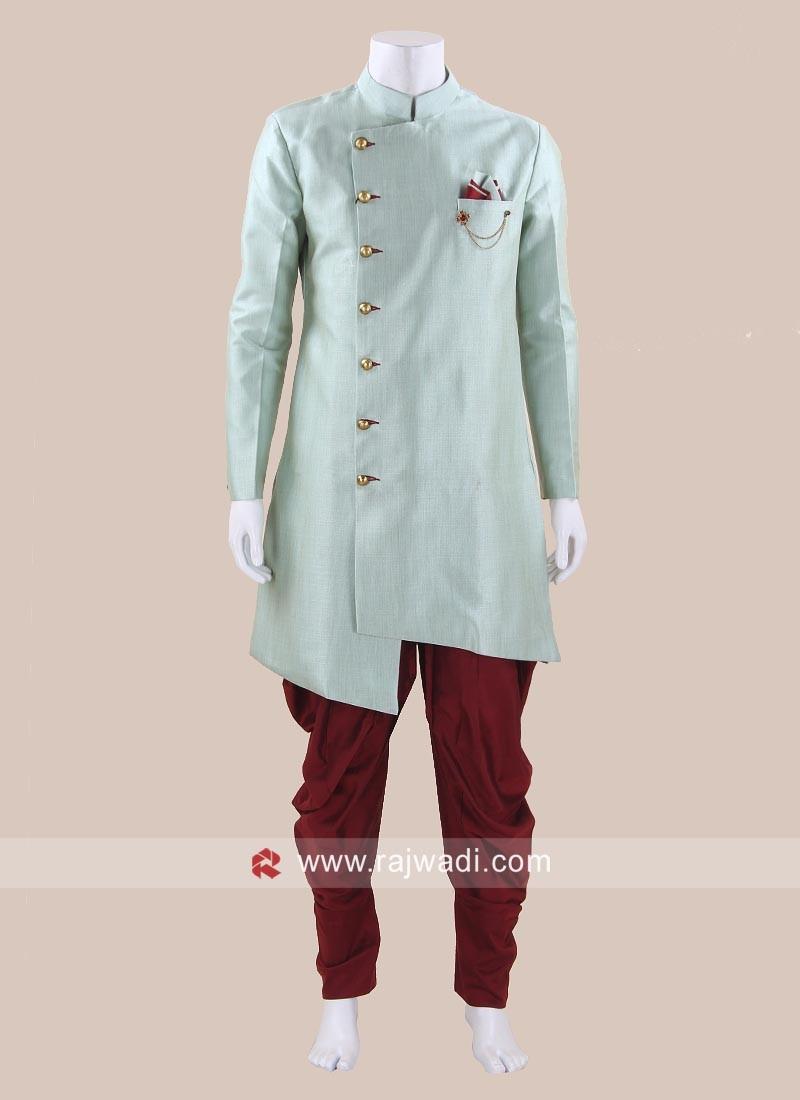 Attractive Art Silk Fabric Patiala Set
