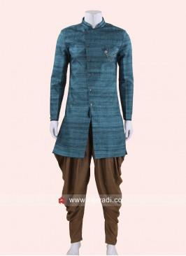 Attractive Art Silk Indo Western For Men