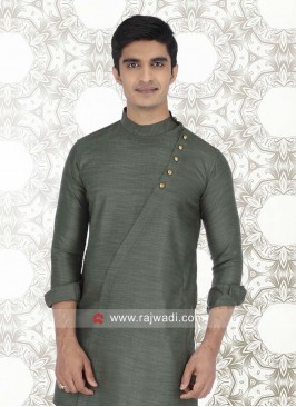 Attractive Green Color Kurta