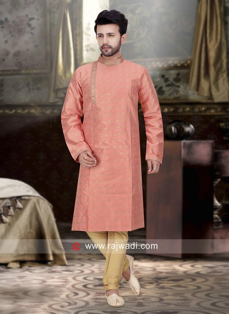 Attractive Art Silk Kurta Pajama