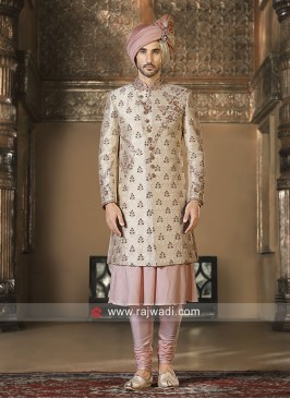 Attractive Art Silk Sherwani