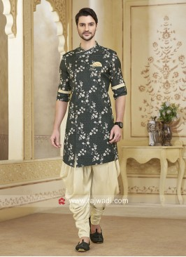 Attractive Black Patiala Suit