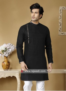Attractive Black Kurta For Mens