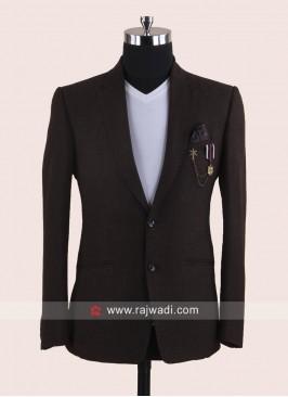 Attractive Brown Color Blazer
