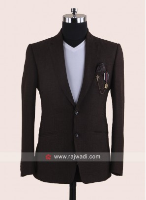 Attractive Brown Color Blazer
