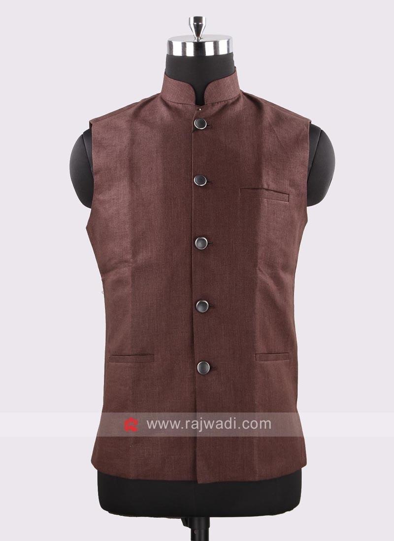 Attractive Brown Color Koti
