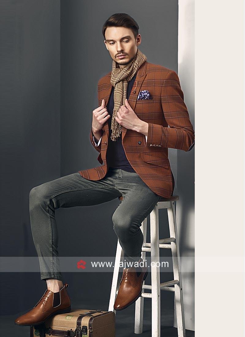 Attractive Imported Fabric Blazer
