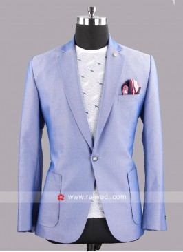 Attractive Cotton Silk Blazer