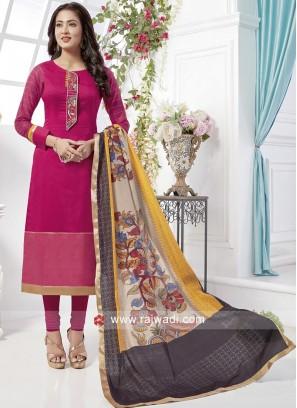 Cotton Silk Readymade Salwar Suit
