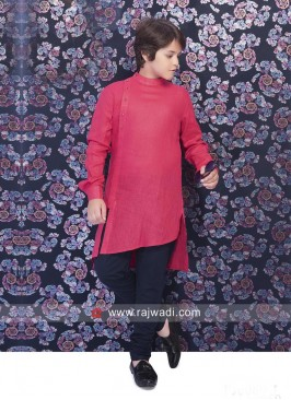Attractive Crimson Kurta pajama