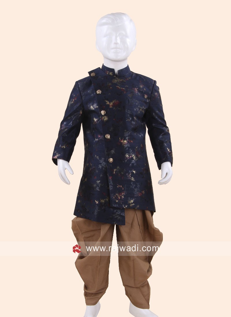 Party Wear Navy Indo western