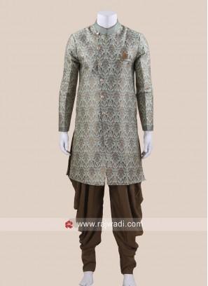 Attractive Green Color Patiala Suit