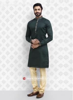 Attractive Green kurta pajama