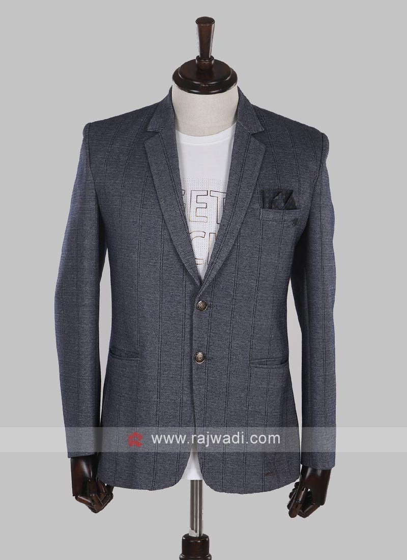 attractive grey blazer