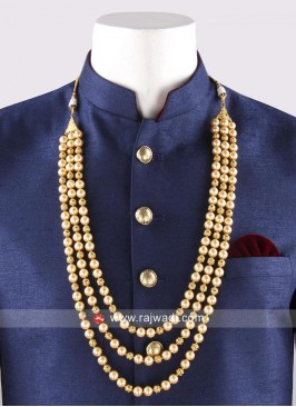 Attractive Groom Mens Mala