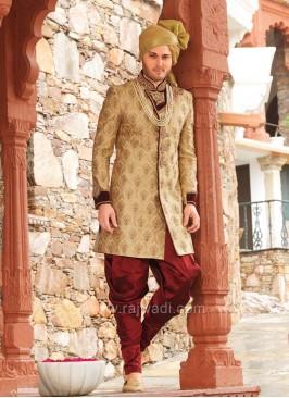 Attractive Jute Silk Fabric Indo Western