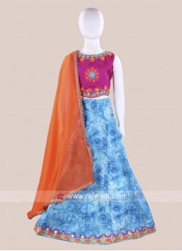 Attractive Kids Chaniya Choli for Navratri