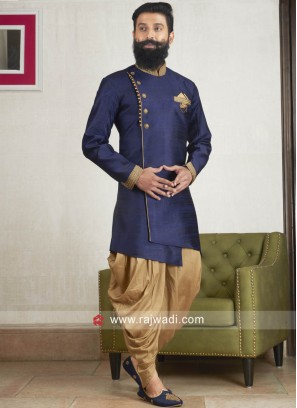 Charming Navy Patiala Suit