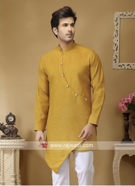 Attractive Mustard Yellow Color Kurta