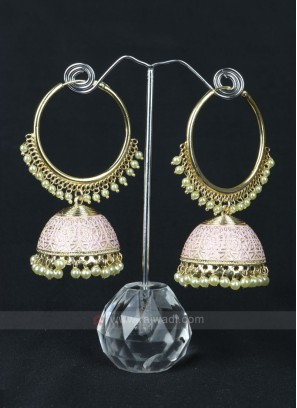 Attractive Light Pink Earrings