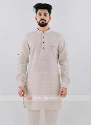 Attractive Linen Kurta For Men