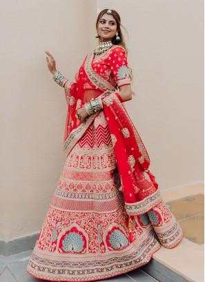 Attractive Lehenga Choli For Bride