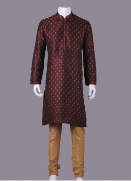 Attractive Maroon Color Kurta