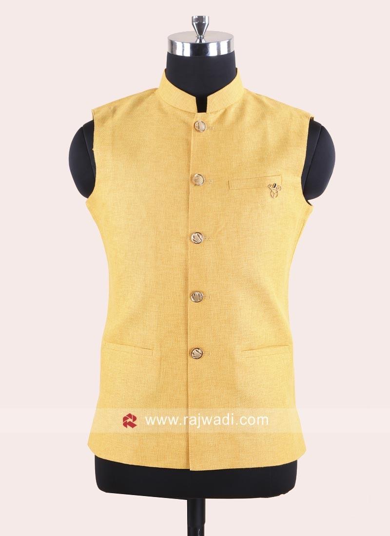 Attractive Mustard Yellow Color Koti