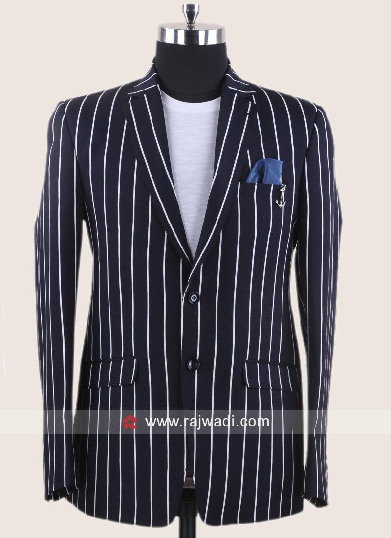 Attractive Navy Color Blazer For Party