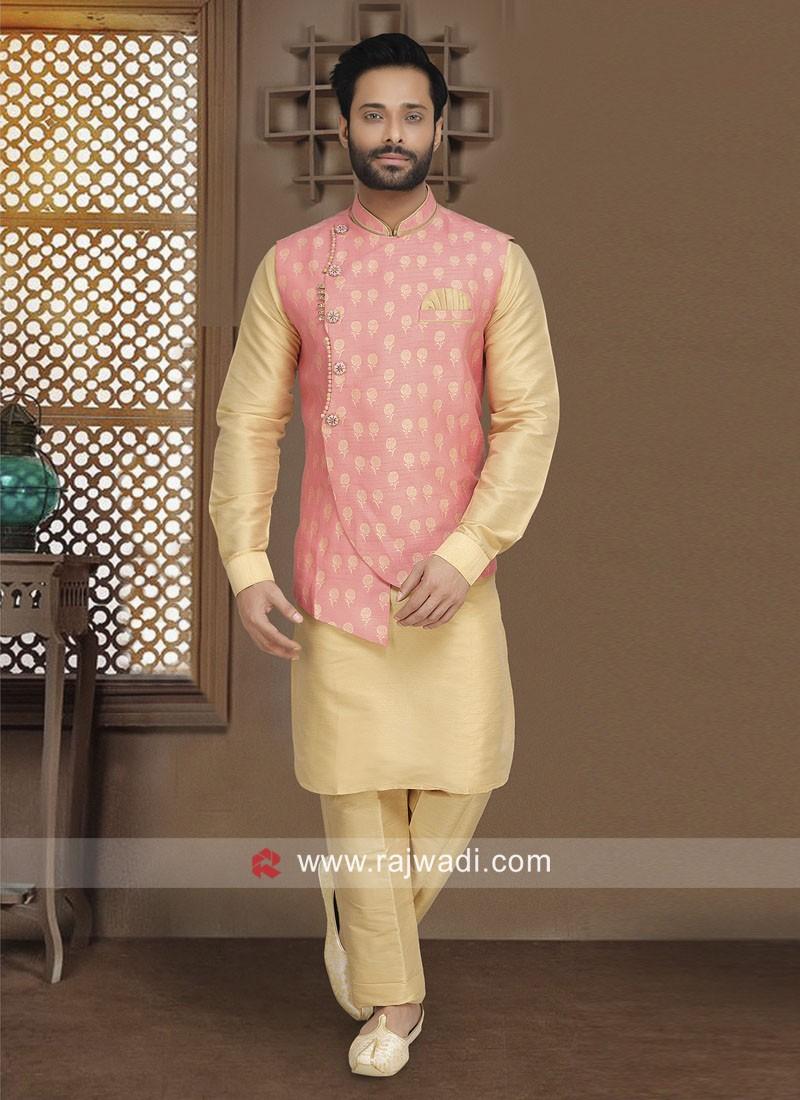 Attractive Nehru Jacket For Wedding