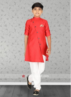 Attractive Rust Kurta Pajama
