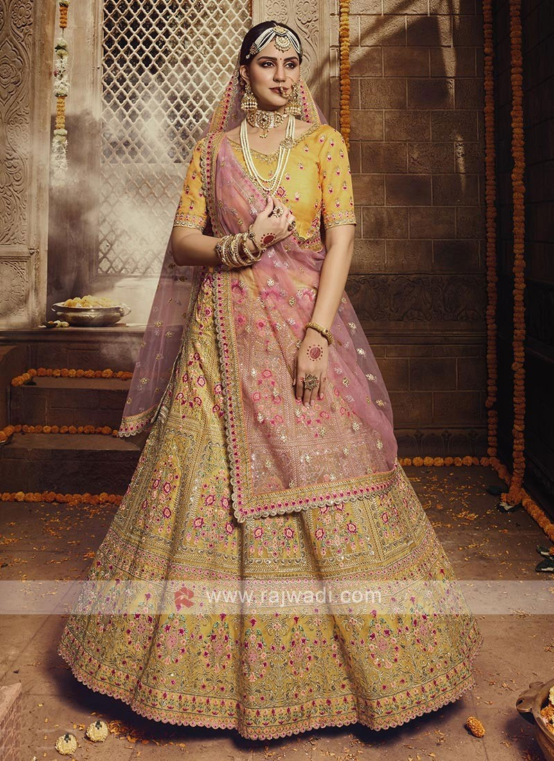 Attractive Organza Lehenga Choli