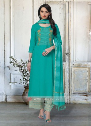 Attractive Palazzo Suit