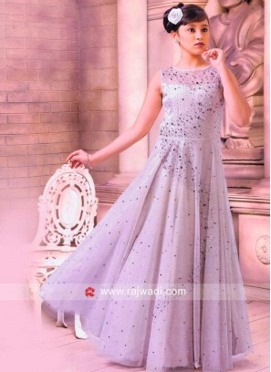 Attractive Party Wear Girls Gown