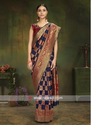 Attractive Patola Silk Saree