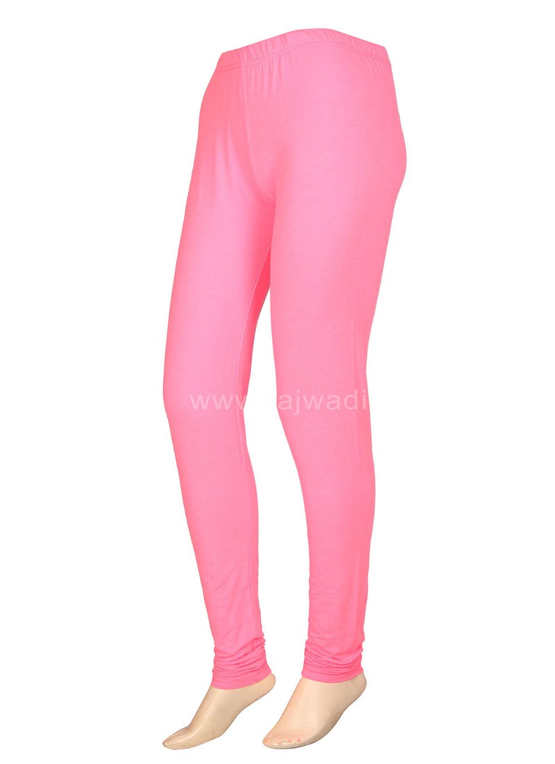 Attractive Peach Coloured Leggings