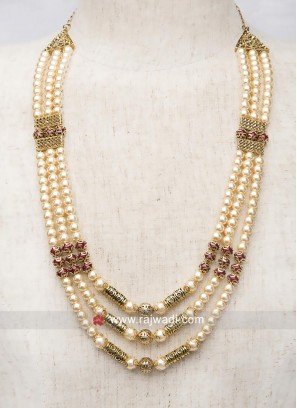 Attractive Pearl Groom Mala