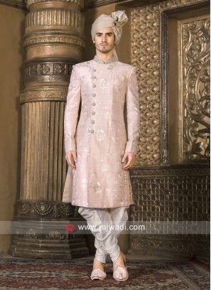 Attractive Pink Color indo Western