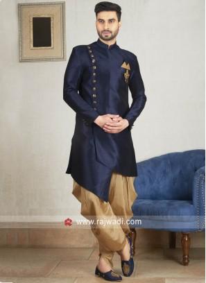 Attractive Navy Patiala Suit