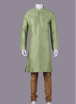 Attractive Pista Green Color Kurta