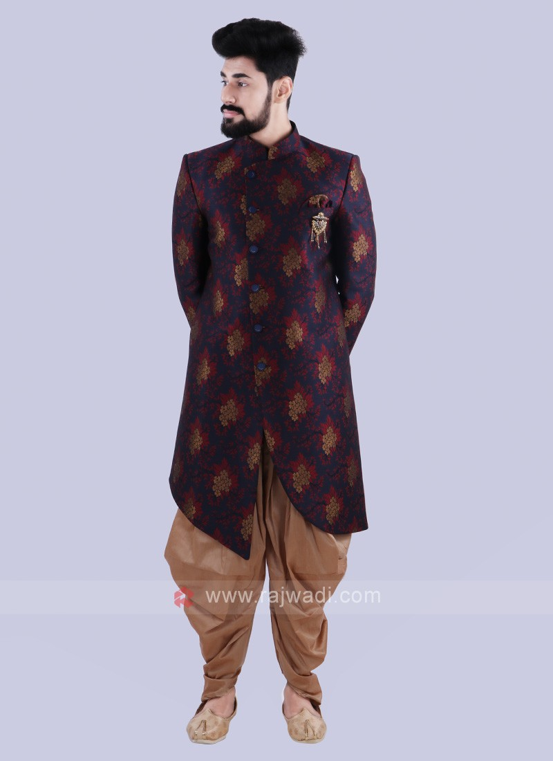 Attractive Printed Indo Western For Men