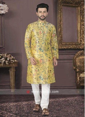 Attractive Printed Kurta Pajama
